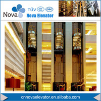 6 Persons Panoramic Sightseeing Elevator and Passenger Lift