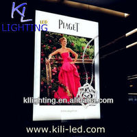 Advertising led light box Double sided view A4 24W in the light box dresses