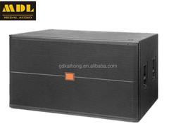 top quality 1200w SRX-728 professional 18'' speaker subwoofer dual 18-inch subwoofer