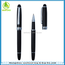High quality branded promotional heavy metal rollerball pen
