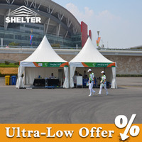 Strong wind resistant 4x4 canopy tent