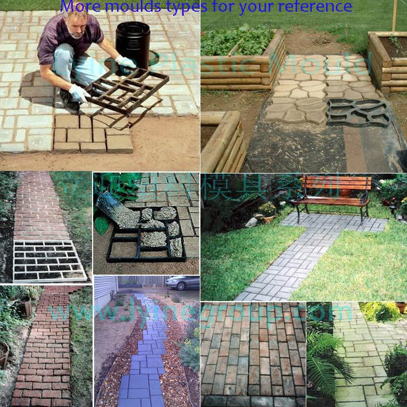 Recycled Rubber Pathway Patio Pavers Patio Floor Tile Moulds / Block Diy  Moulds For Garden   Buy Patio Floor Tile Moulds,Recycled Patio Floor Tile  Moulds ...