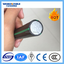 Single Core Unarmored XLPE Insulated PVC Sheath Cable, Electrical Aluminum Wire