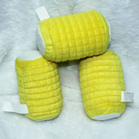T002 Tasty visual corn cobs pet toy dog toys sound Squeak Drop Shipping