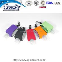Cozy clip neoprene sleeve 0.5oz 15ml promotion hand sanitizer