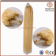 Wholesale 100% Human Hair Micro Ring Hair Extensions For Blacks