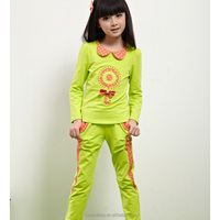 wholesale girls boutique outfit, casual sports kids girls boutique clothing of 4-15 years olds made in china