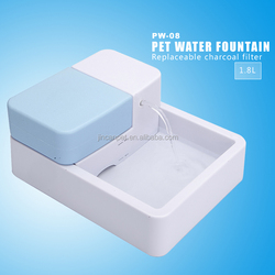 JINCAN Own Invention Patant, Basice Model PW-08 Pet water fountain , To Supply More Pure Water