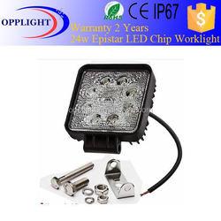 Auto led lamp, 24W LED Work Light,12/24V Driving On Truck,Jeep, Atv,4WD,Boat,Mining LED driving light