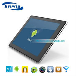 ZX-MD9710 9.7 inch windows 7 tablet pc dual sim support tablet covers 9.7