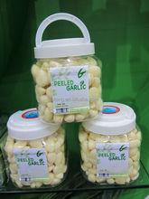 Fresh peeled garlic garlic cloves producing by fresh nature garlic