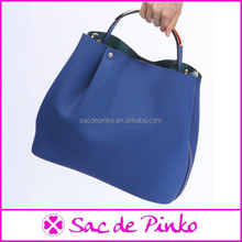 fashion wholesale designer brand fabric leather bag