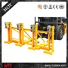 Forklift Drum Lifter with Double twin Drum clamp