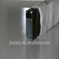 perfil de aluminio para uso industrial