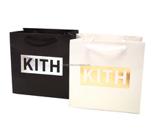 High Quality Hot Staming Shopping Bags Paper Bags