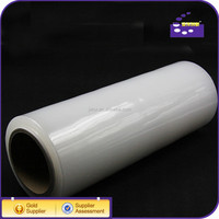 2015 PE PVC clear stretch film plastic wrap for pallet