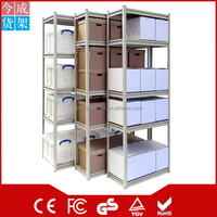 Steel slotted angle/Commercial storage Shelf/DIY household storage shelf