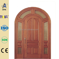 Zhejiang AFOL High Quality Teak Wood Main Door Models and Solid Wood Door