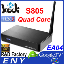 Amlogic s805, cheap 512MB+4G streaming tv box, designed for content solution provider,
