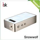 Preço de atacado Snowwolf controle de temperatura 200 w snow wolf box mod