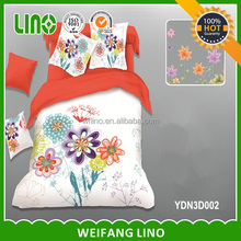 flower printed 3d baby quilt cotton quilts for children baby quilts wholesale
