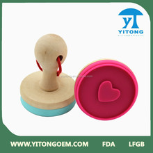 OEM Factory Direct Supply FDA Standard Eco-friendly 3d Cookie Cutter Cookie Stamp