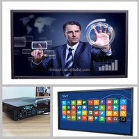 Riotouch infrared multi touch screen monitor all in one pc, HD LED/LCD touch TV with high sensitivity
