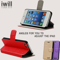 2014 leather protective mobile phone case for iphone4/iphone 5/iphone 5s