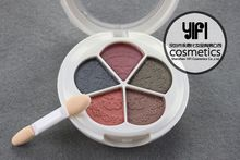 2015 new trend travel kit MISS-YIFI 5 colors matte color eyeshadow palette