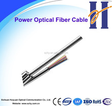 OPGW optical fiber cable for high voltage use 24 core optical fiber cable