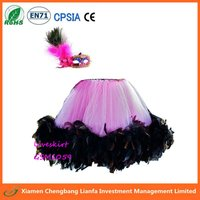Fancy Feather pettiskirt with mask