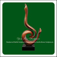 Indoor Decorative Casting Modern Bronze Abstract Sculpture For Sale