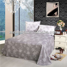 elegant design 100% cotton cheap and new design bed sheet in China