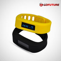 2015 New Products smart watch bluetooth watch 3D wristband pedometer with Calories counter