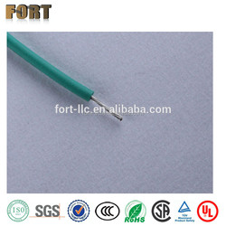 19 strands 0.1mm copper conductor electrical wire FEP insulation