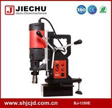 De doble uso de doble uso de máquinas taladro magnético con cortador anular 128 mm y giro de perforación 30 mm