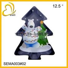 Tree shape melamine plate, Christmas melamine plate
