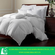 2015 hot sale 100% cotton White Duck Down Alternative Comforter Duvet