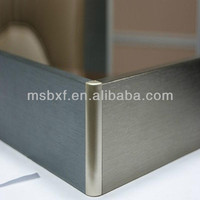 waterproof aluminium modern skirting board styles