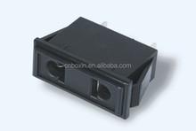 2 pins type American Euro plug electric socket EU US industrial socket