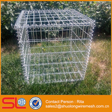 Stainless Steel Welded Mesh Gabion Basket