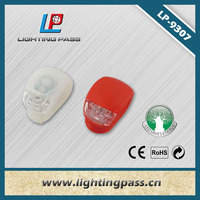 Safety Led lighting Decorative led bike bicycle light with Rubber