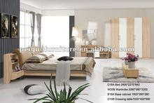 2013 ventas calientes cama & montaje auto muebles