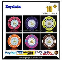 14g Two Tone Crown Casino Clay Poker Chips