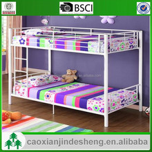 Bedroom Furniture T/T kids single metal bed/bunk bed -white