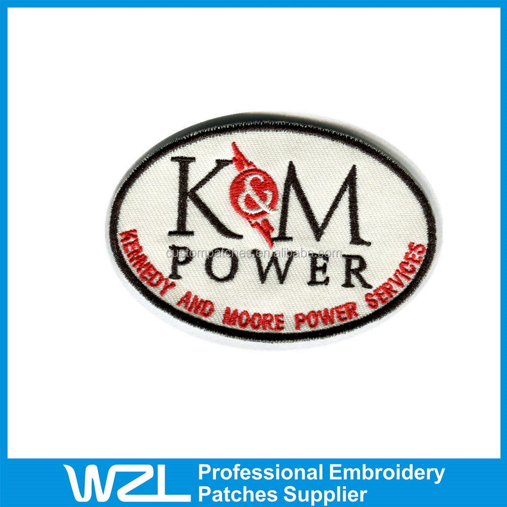 Wholesale fashion custom embroidery applique patches buy
