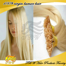 Top Grade Pre Bonded Fusion I Stick Tip Glue Remy Human Hair Extensions
