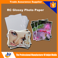 wholesale price photo paper rc glossy/satin/ Inkjet photo paper