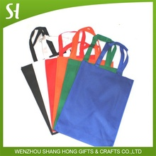 Wholesale Custom logo printed large color non woven Hand tote Shopping bag for promotion Party gift boutique