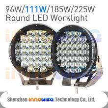111W Round LED Ring Work Light Bar